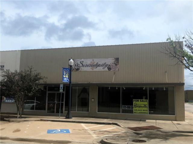 412 Center Avenue, Brownwood, TX 76801 (MLS #13950549) :: The Heyl Group at Keller Williams