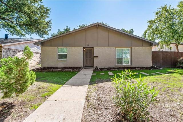 310 Thistle Drive, Garland, TX 75043 (MLS #13950765) :: The Chad Smith Team