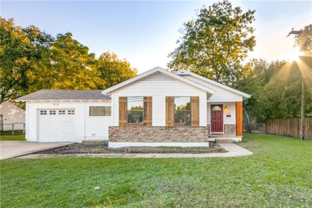 218 S Cowan Avenue, Lewisville, TX 75057 (MLS #13952354) :: RE/MAX Town & Country