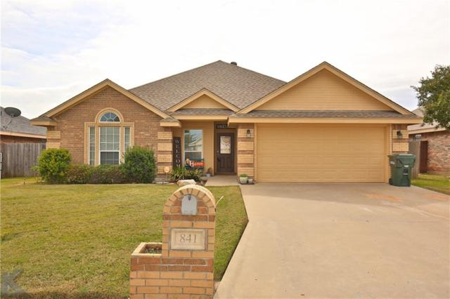 841 Shallow Water Trail, Abilene, TX 79602 (MLS #13955588) :: The Real Estate Station