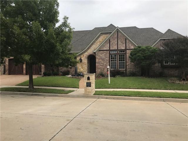 223 Versailles Lane, Keller, TX 76248 (MLS #13955830) :: Frankie Arthur Real Estate