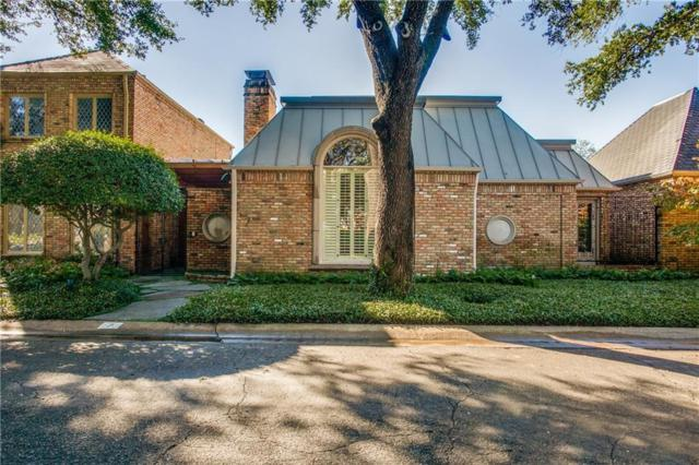 7 Saint Laurent Place, Dallas, TX 75225 (MLS #13957042) :: RE/MAX Town & Country