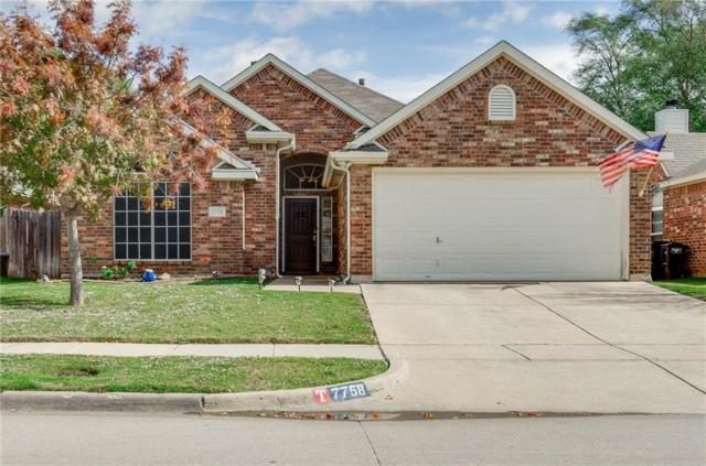 7758 Summerbrook Circle, Fort Worth, TX 76137 (MLS #13963143) :: The Chad Smith Team