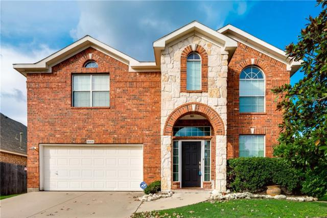 4464 Fountain Ridge Drive, Fort Worth, TX 76123 (MLS #13964644) :: RE/MAX Town & Country