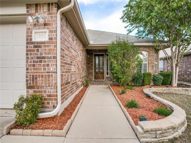 1005 Roadrunner Drive, Little Elm, TX 75068 (MLS #13965868) :: The Real Estate Station
