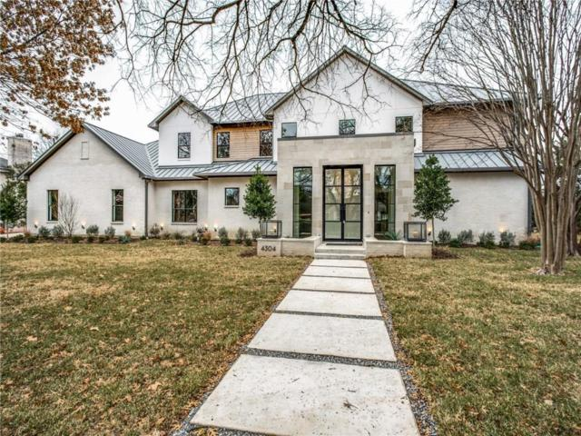 4304 N Cresthaven Road, Dallas, TX 75209 (MLS #13966687) :: The Mitchell Group