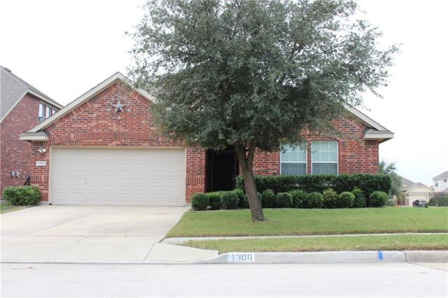 1300 Castlegar Lane, Fort Worth, TX 76247 (MLS #13967923) :: RE/MAX Pinnacle Group REALTORS