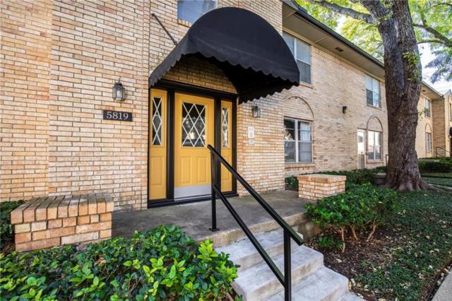 5819 Sandhurst Lane B, Dallas, TX 75206 (MLS #13972553) :: Team Tiller