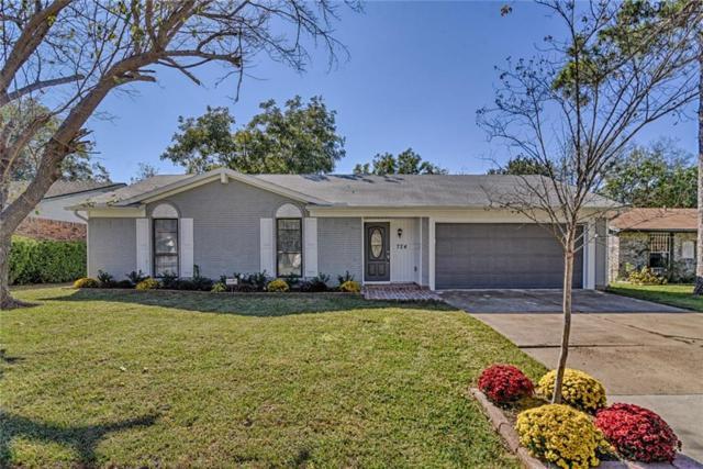 724 S Deerfield Circle, Arlington, TX 76015 (MLS #13973034) :: RE/MAX Town & Country