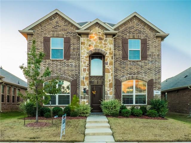 608 Pawnee Street, Aubrey, TX 76227 (MLS #13974878) :: Real Estate By Design