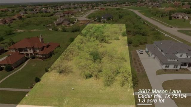 2607 Mason Lane, Cedar Hill, TX 75104 (MLS #13981672) :: Lynn Wilson with Keller Williams DFW/Southlake