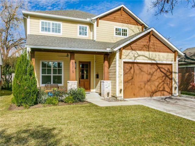 6219 Anita Street, Dallas, TX 75214 (MLS #13982206) :: Kimberly Davis & Associates