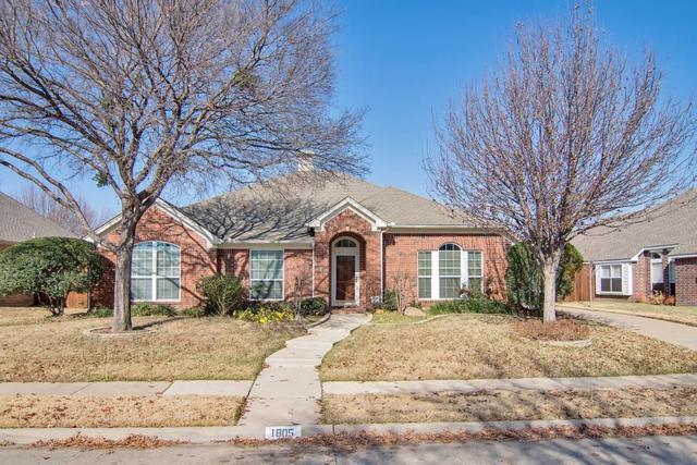 1805 Meadow Ridge Drive, Keller, TX 76248 (MLS #13983608) :: The Chad Smith Team