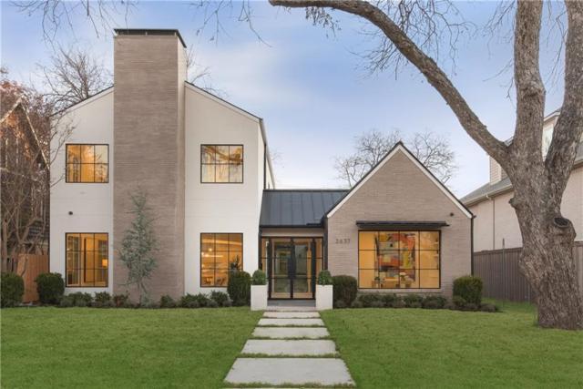 2637 Westminster Avenue, University Park, TX 75205 (MLS #13984824) :: Robbins Real Estate Group