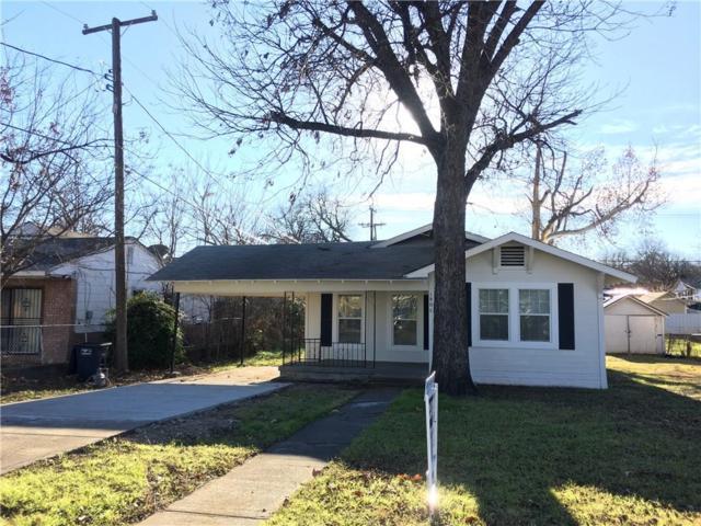 1805 Denver Avenue, Fort Worth, TX 76164 (MLS #13990294) :: The Real Estate Station