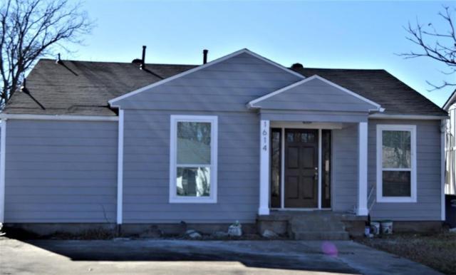 1614 Wilbur Street, Dallas, TX 75224 (MLS #13992470) :: Team Hodnett