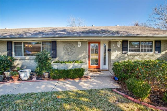 4204 Whitfield Avenue, Fort Worth, TX 76109 (MLS #13992977) :: Real Estate By Design