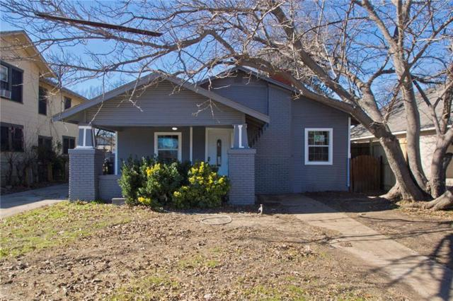 2928 Travis Avenue, Fort Worth, TX 76110 (MLS #13996378) :: The Hornburg Real Estate Group