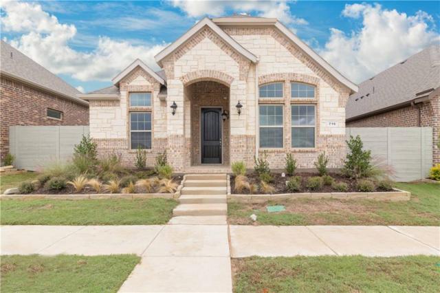 716 Boardwalk, Argyle, TX 76226 (MLS #14002200) :: The Real Estate Station