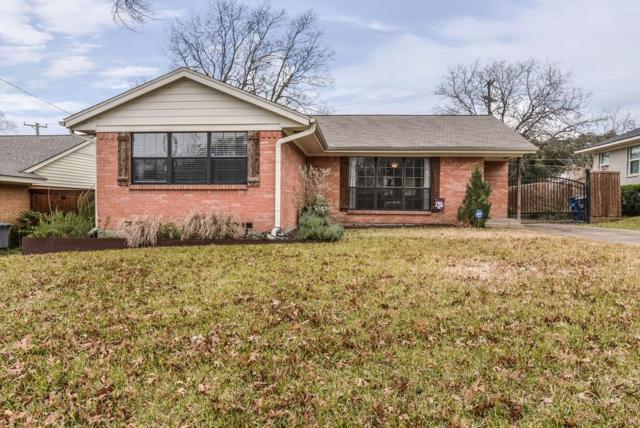 851 Peavy Road, Dallas, TX 75218 (MLS #14002736) :: RE/MAX Town & Country