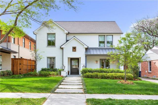 5630 Stanford Avenue, Dallas, TX 75209 (MLS #14010480) :: Robbins Real Estate Group