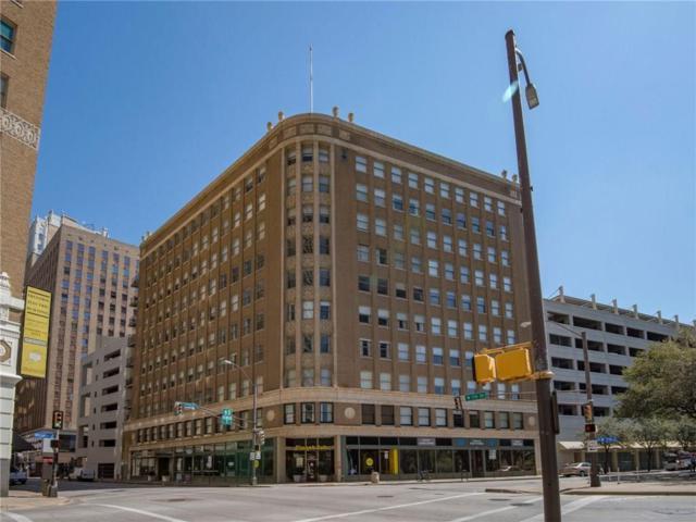 411 W 7th Street #402, Fort Worth, TX 76102 (MLS #14010763) :: The Rhodes Team