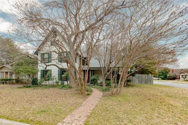 719 Westview Avenue, Fort Worth, TX 76107 (MLS #14010946) :: RE/MAX Town & Country