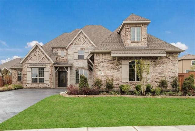 820 Star Meadow Drive, Prosper, TX 75078 (MLS #14011462) :: Real Estate By Design