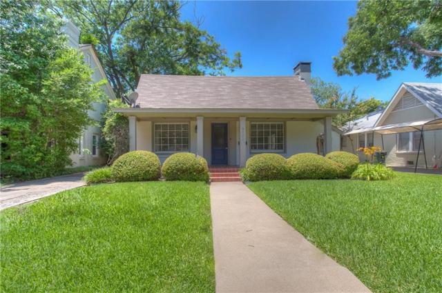 3208 Waits Avenue, Fort Worth, TX 76109 (MLS #14012654) :: Kimberly Davis & Associates