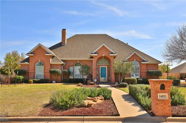 1401 Riata Road, Abilene, TX 79602 (MLS #14013742) :: Lynn Wilson with Keller Williams DFW/Southlake