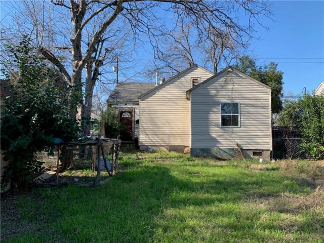 3816 Memorial Drive, Beverly Hills, TX 76711 (MLS #14014439) :: RE/MAX Town & Country