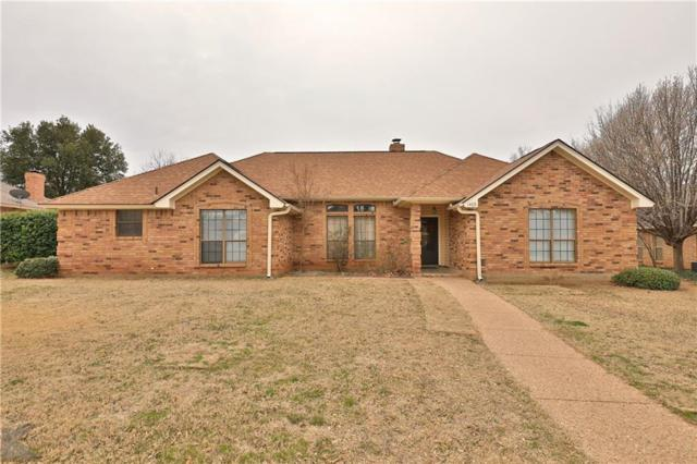 1409 Lakeview Road, Abilene, TX 79602 (MLS #14017718) :: RE/MAX Town & Country
