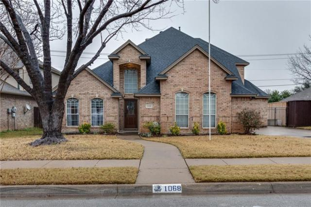 1068 Rosewood Drive, Grapevine, TX 76051 (MLS #14020479) :: The Good Home Team