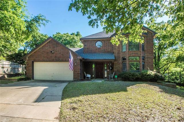 1217 Sandhurst Court, Grapevine, TX 76051 (MLS #14023561) :: The Daniel Team