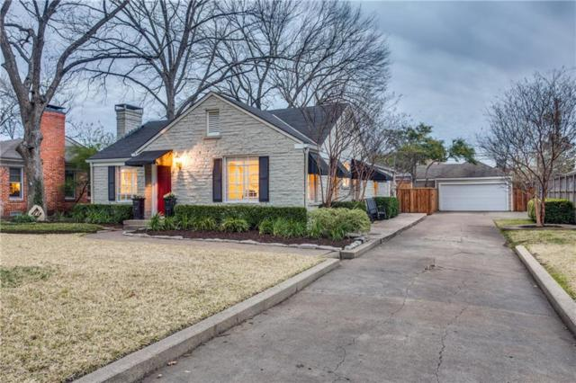 5600 W Amherst Avenue, Dallas, TX 75209 (MLS #14026377) :: Robbins Real Estate Group