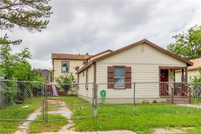 1203 Harrington Avenue, Fort Worth, TX 76164 (MLS #14027741) :: The Hornburg Real Estate Group