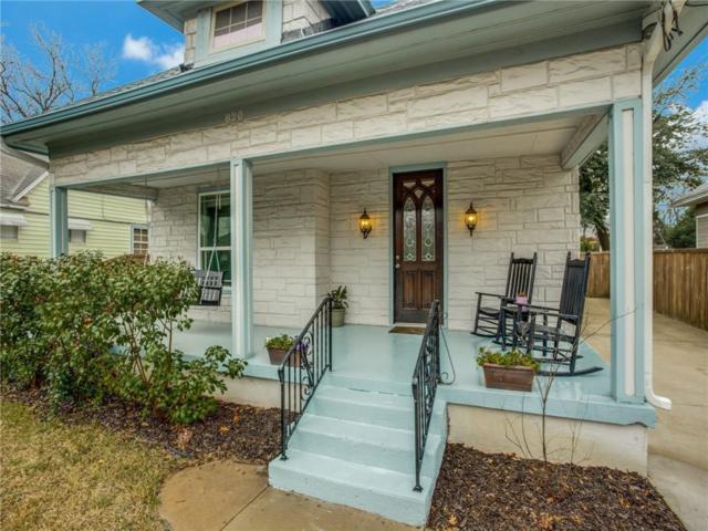 820 W Eighth Street, Dallas, TX 75208 (MLS #14029615) :: Real Estate By Design