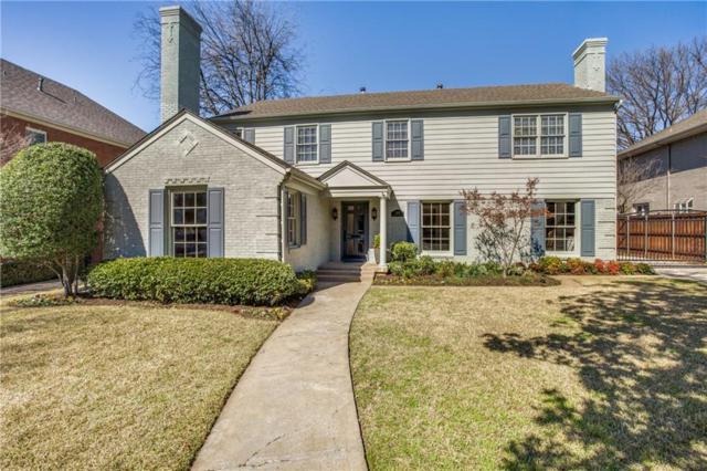 3312 Hanover Street, University Park, TX 75225 (MLS #14030834) :: Robbins Real Estate Group