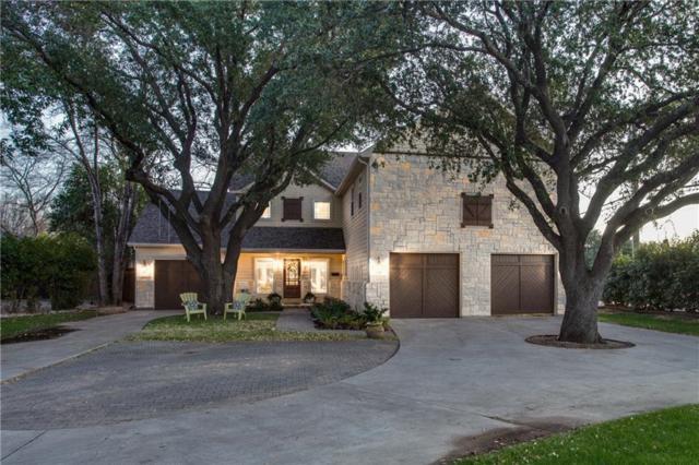 5302 W University Boulevard, Dallas, TX 75209 (MLS #14031948) :: RE/MAX Town & Country
