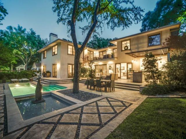 5539 Montrose Drive, Dallas, TX 75209 (MLS #14035049) :: RE/MAX Town & Country