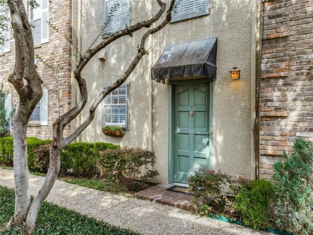 4017 Buena Vista Street #118, Dallas, TX 75204 (MLS #14037364) :: Team Hodnett