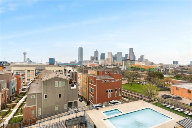 1001 Belleview Street #506, Dallas, TX 75215 (MLS #14038281) :: Team Hodnett