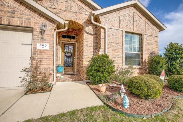 800 Waller Drive, Fate, TX 75087 (MLS #14038638) :: RE/MAX Landmark