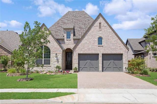 611 Ashbury Lane, Prosper, TX 75078 (MLS #14040927) :: Real Estate By Design