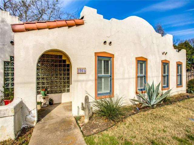 2915 Norris Street, Dallas, TX 75214 (MLS #14043669) :: Robbins Real Estate Group