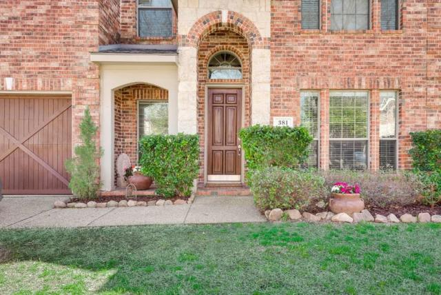 381 Fairlanding Avenue, Fairview, TX 75069 (MLS #14045379) :: RE/MAX Town & Country