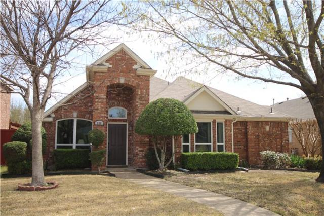 908 Pin Oak Lane, Allen, TX 75002 (MLS #14049862) :: Robbins Real Estate Group