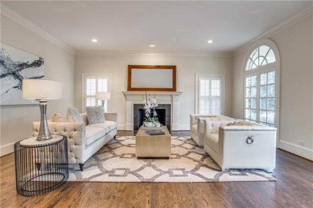 3645 Greenbrier Drive, University Park, TX 75225 (MLS #14050439) :: RE/MAX Town & Country