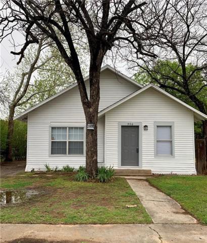 906 N Buffalo Avenue, Cleburne, TX 76033 (MLS #14061027) :: The Daniel Team