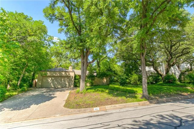 416 Crestwood Drive, Fort Worth, TX 76107 (MLS #14064605) :: Real Estate By Design